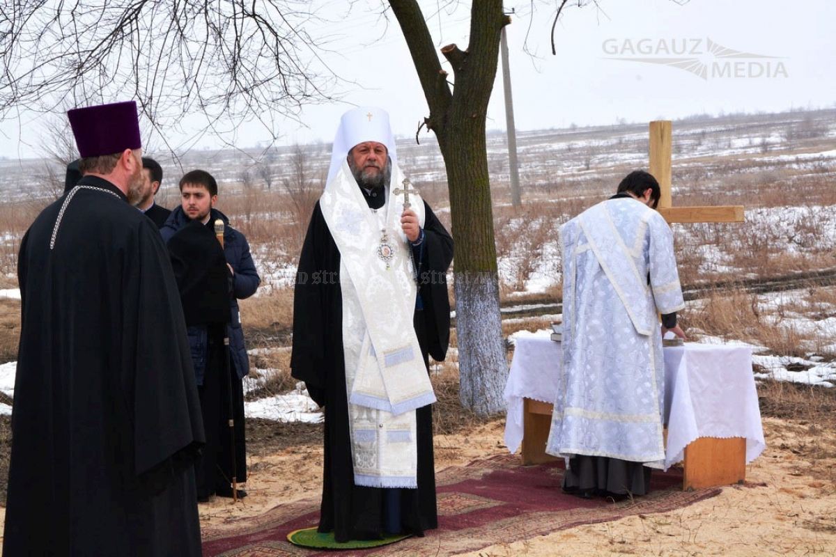 Bishop Vladimir Cantarean prayed for the success of the Comrat Industrial Park