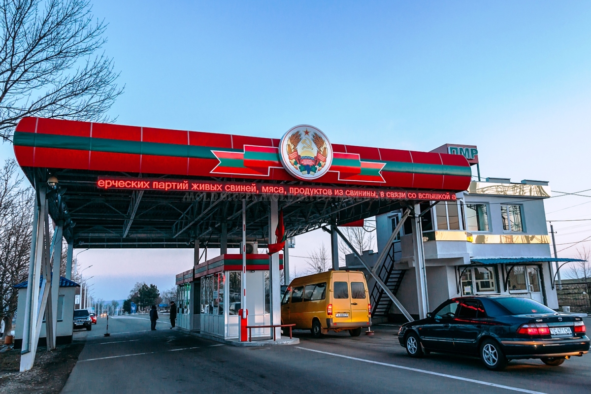 Transnistria had to alighn its customs code to EU requirements