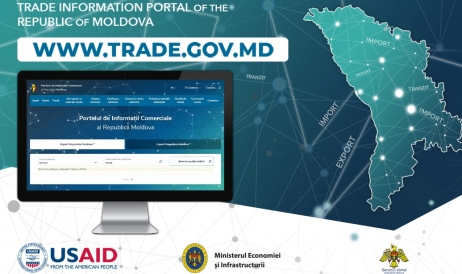 All necessary information for Moldova's foreign trade, one click away