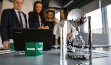 MAIB gets the Best Digital Bank Moldova award for a second consecutive year